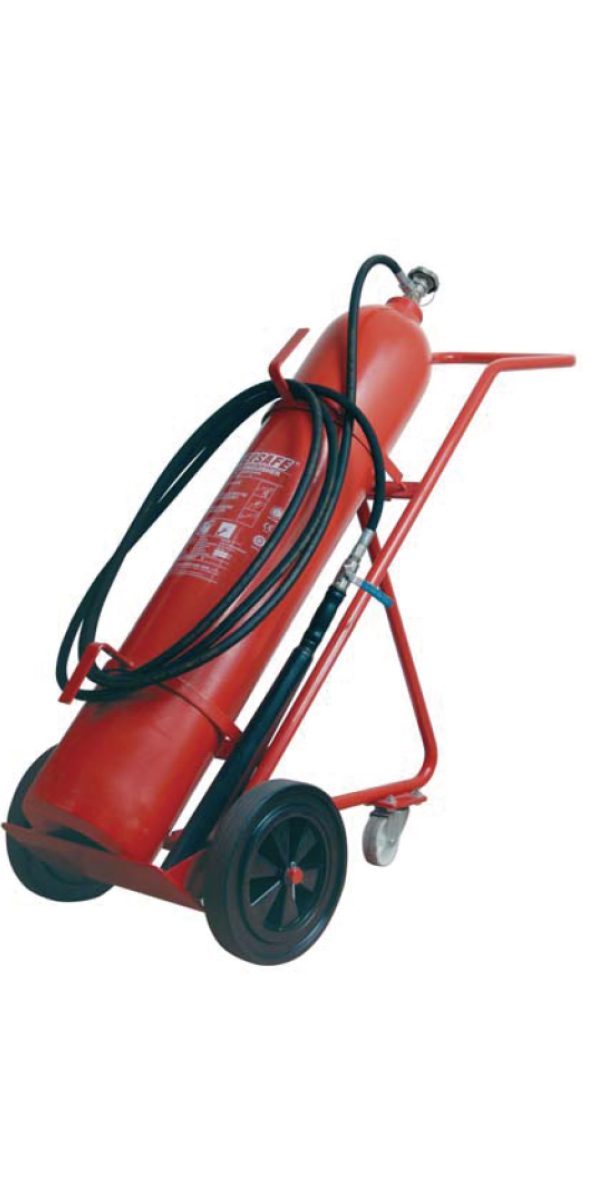 20KG WHEELED CO2 FIRE EXTINGUISHER