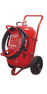 50kgwheeled dry powder fire extinguisher