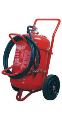 45L wheeled foam fire extinguisher