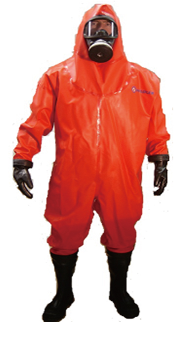 air-tightness type chemical protective suit -GL